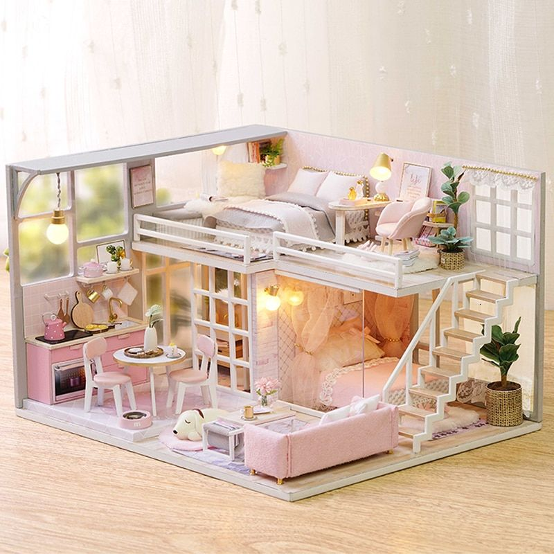 Diy Puppet Doll Accessories House Small Puppet House Furniture