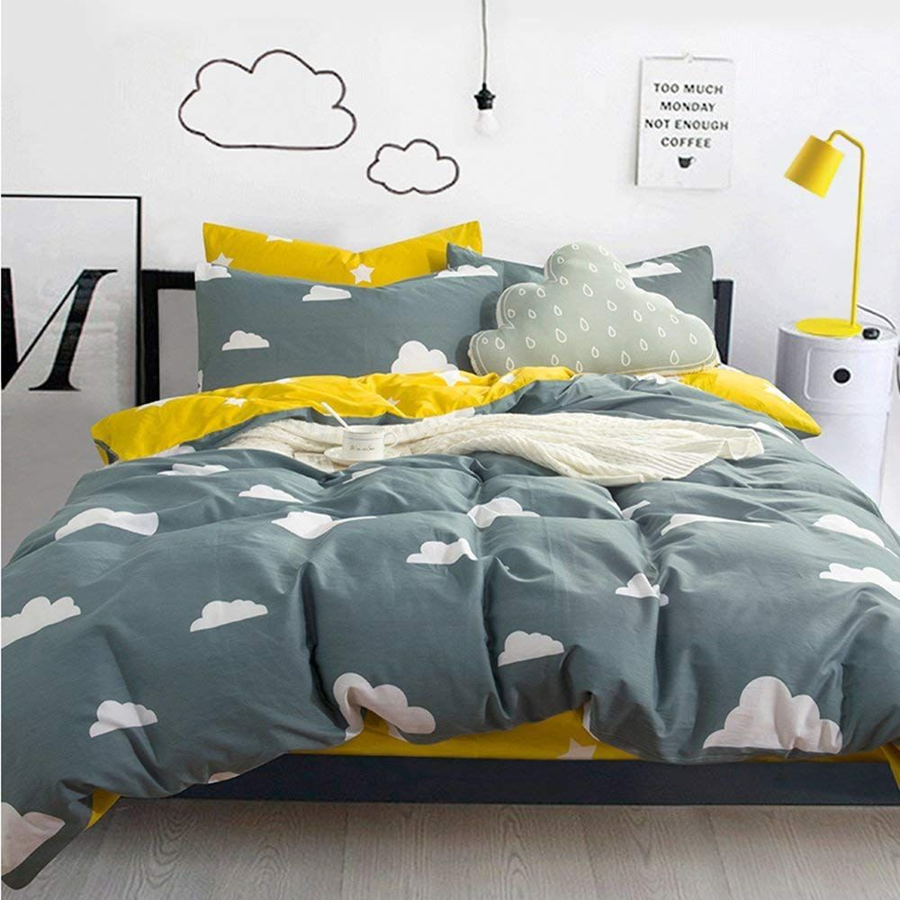 Getting Kitschy With It Yellow Bedding Yellow Bedroom Floral Bedding Sets