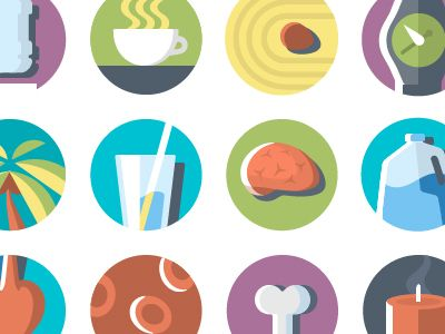 Gamification Badges Icons by Jonathan Patterson Badge