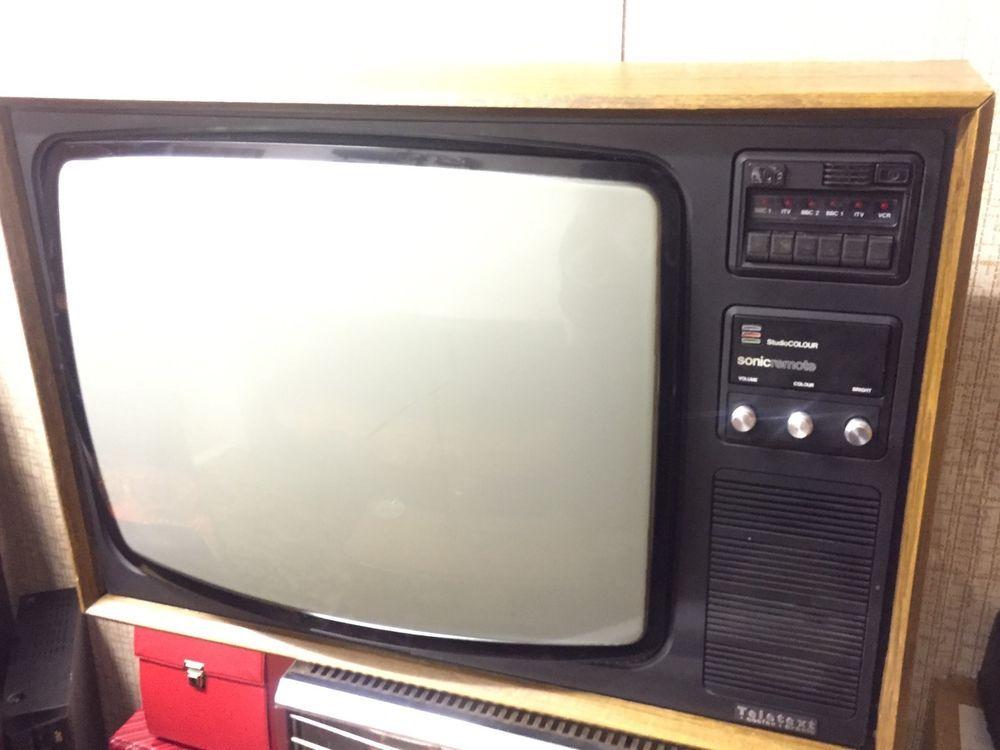 Vintage 26 034 Pye Colour Television Color Television Vintage Tv Vintage Television