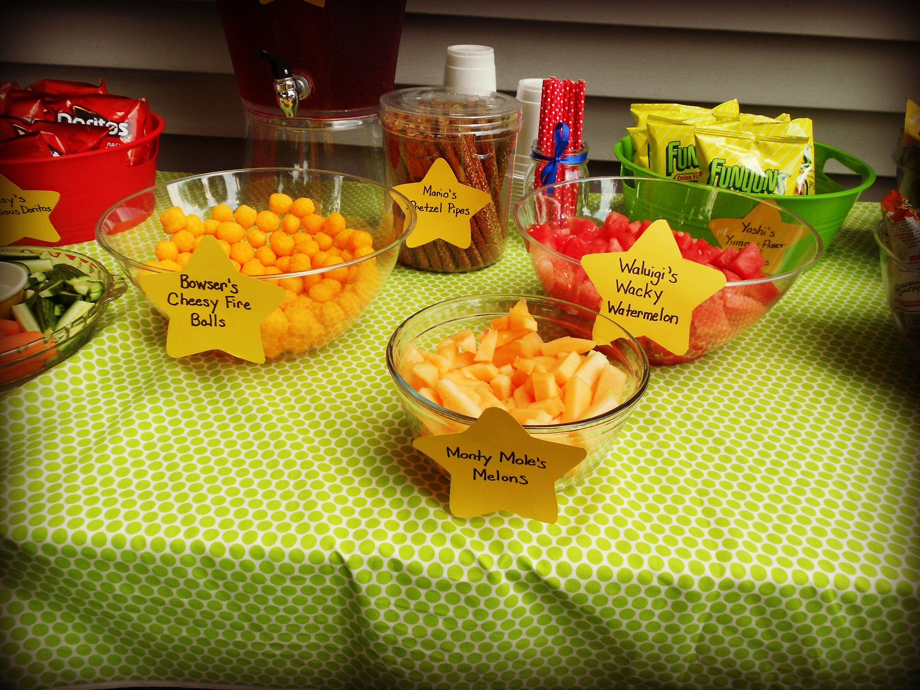 Mario Party The Snacks Are All Named After Mario