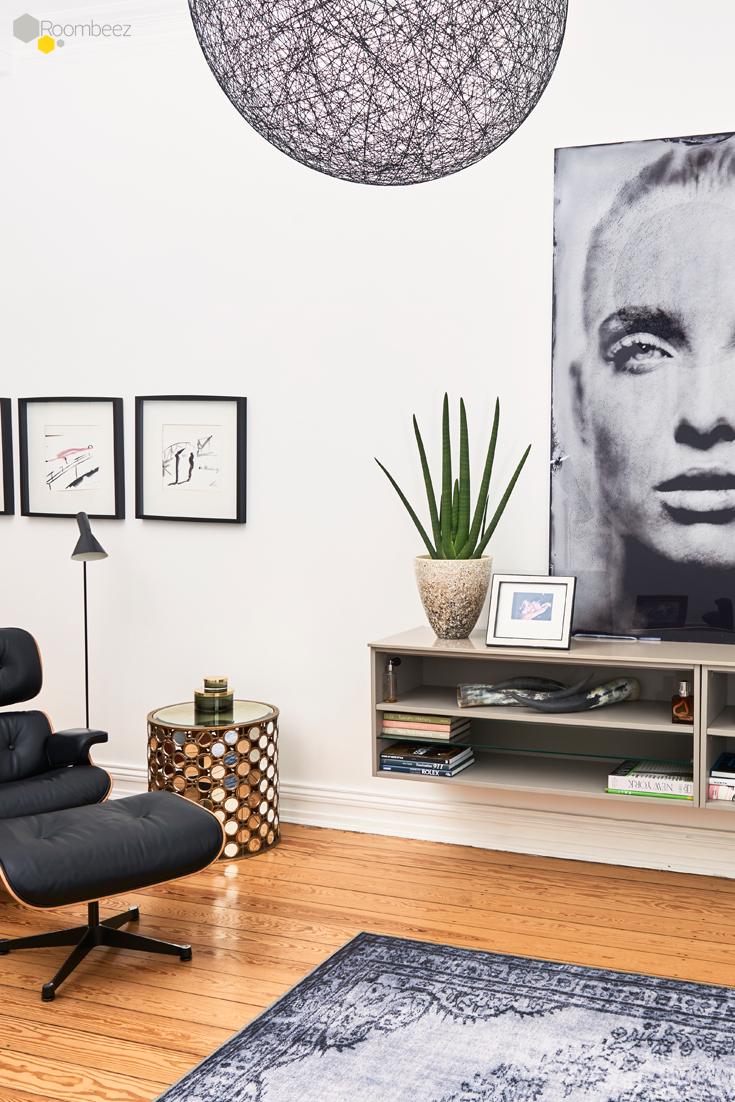 Modern wohnen mit Retro-Chic und Altbau-Charme | Wohnzimmer @ OTTO ...