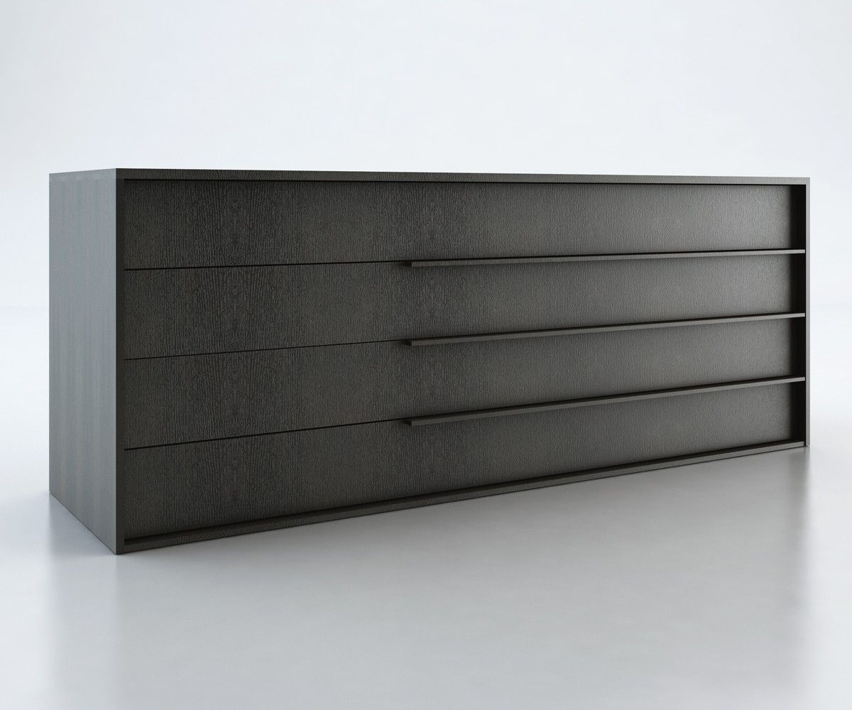 Bedroom,Solid Black Polished 4 Drawers As Inspiring Modern Dresser For  Decorate Modern Bedroom Furniture