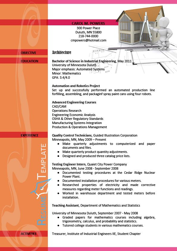 This image presents the nice architect resume template Do you know - architect resume template