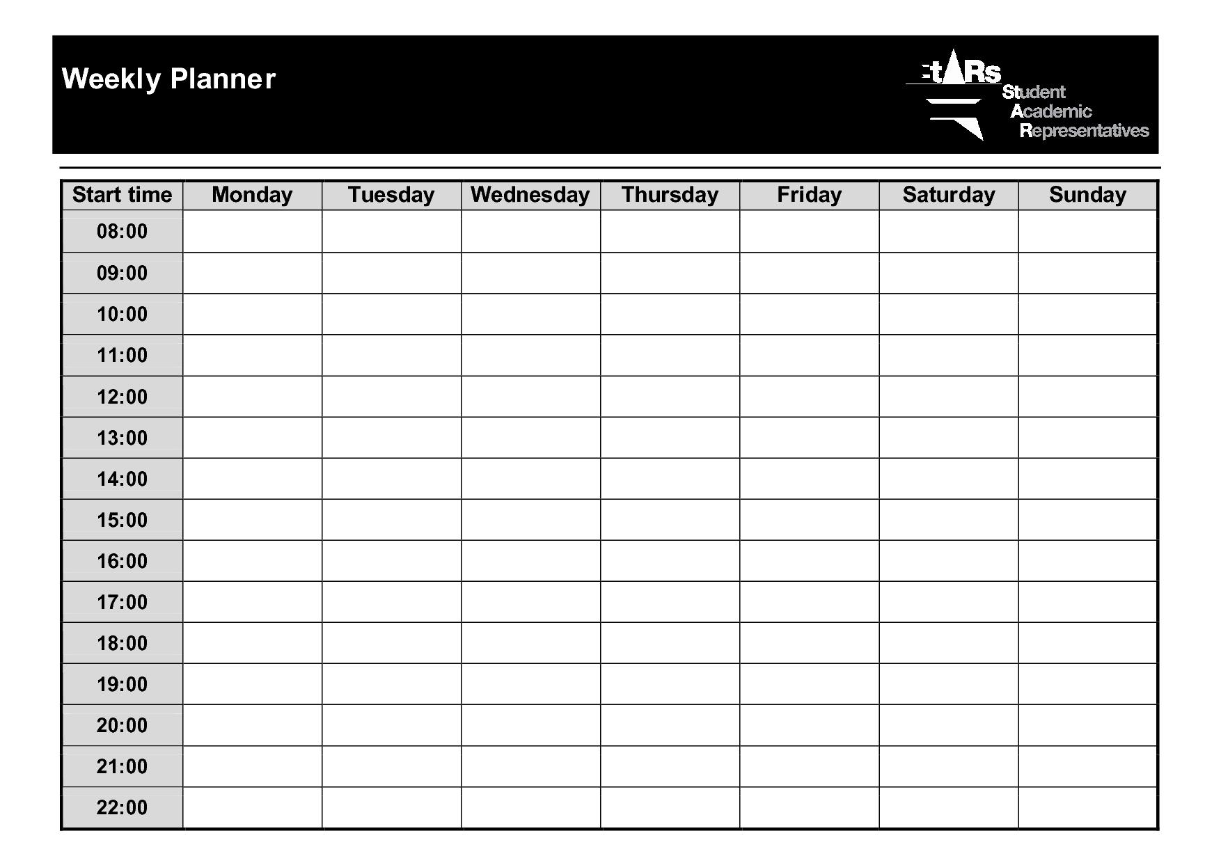 Weekly+Planner+Template+PDF | jj | Pinterest | Weekly planner ...