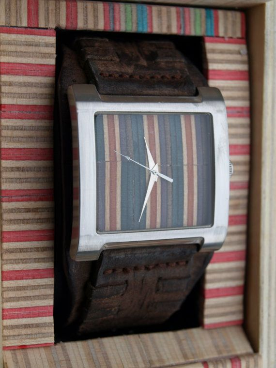 One of a kind Skateboard Watch