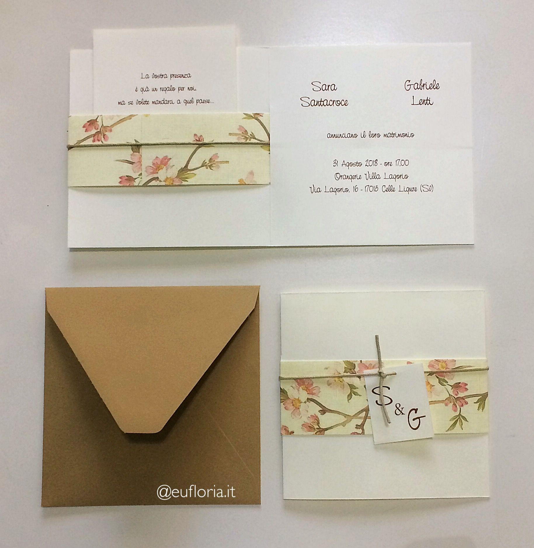Kraft paper japanese style wedding invitations | Wedding Stationery ...