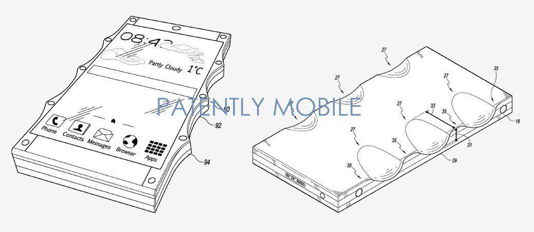 Google regista patente de capa para smartphone com moldes para dedos