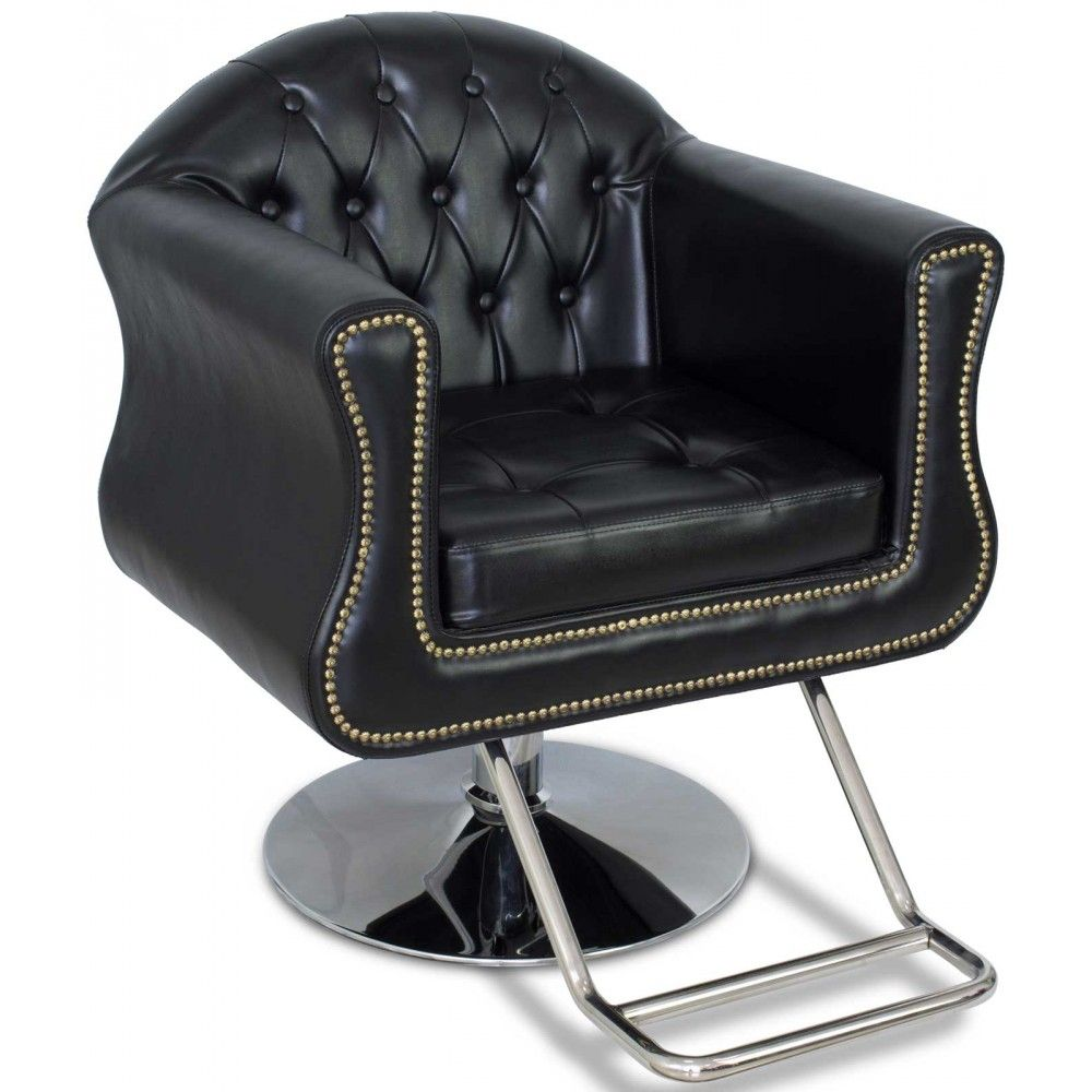 styling chairs for sale cheap chair covers rental prices young black beauty salon round base the