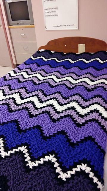 V-Stitch Crochet Ripple Afghan – Free Pattern | V-Stitch Crochet ...