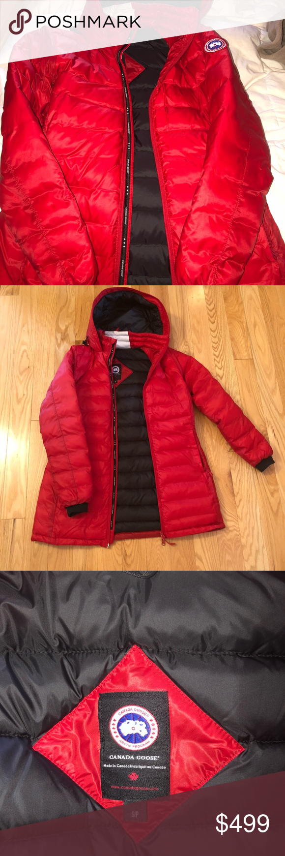 382384f96 Canada Goose 'Camp' hooded down jacket Purchased online from Canada Goose  website. SIZE SMALL. I got it last winter but it is the wrong size for me.