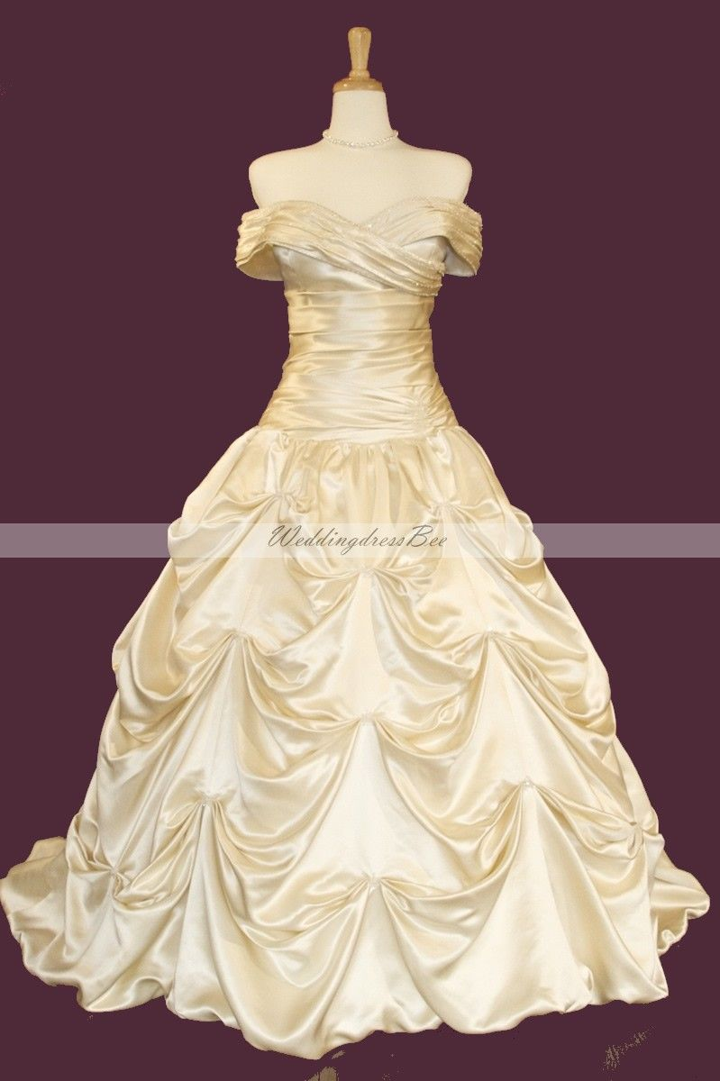Beauty And The Beast Bridesmaid Dresses: Beauty And The Beast Wedding Dress!!!! I Want This Dress