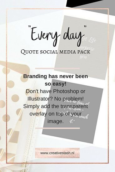 The Every Day Quote Pack   Group Board Graphic Design