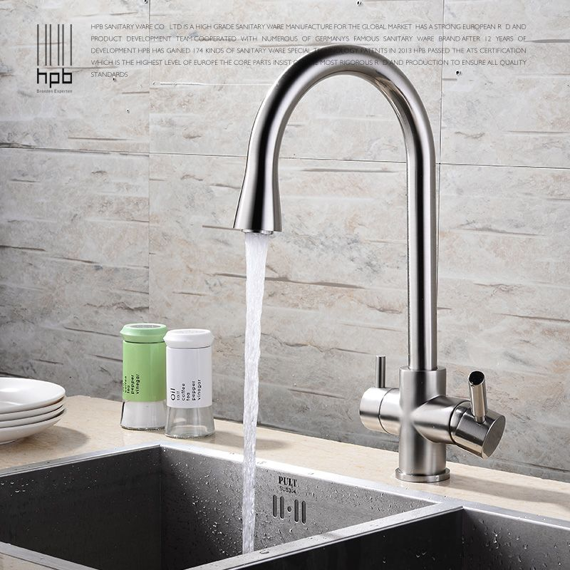 Copper Cold Kitchen Faucet Vegetable Washing Basin Water Tank With