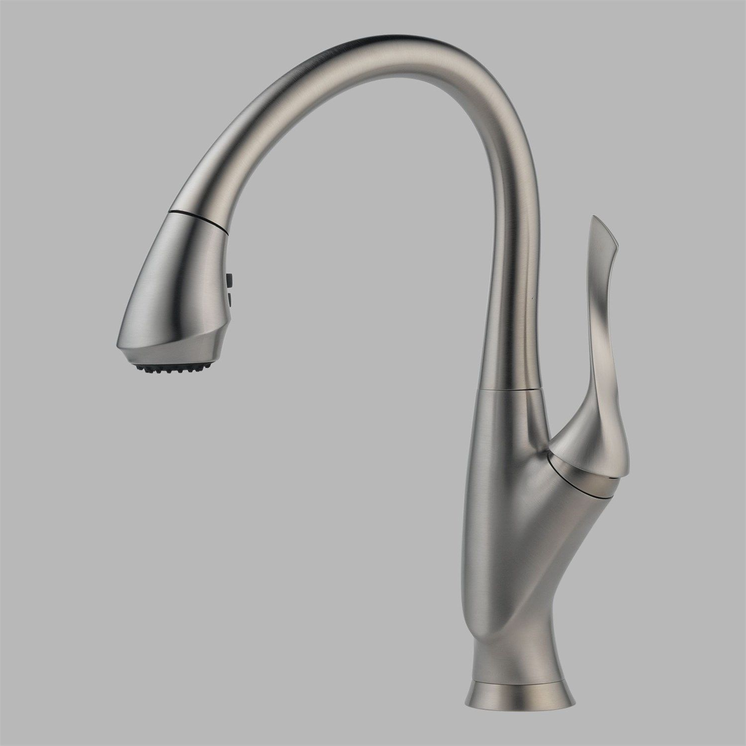 Brizo 63052LF-SS Belo Single Handle Pul Down Kitchen Faucet in ...