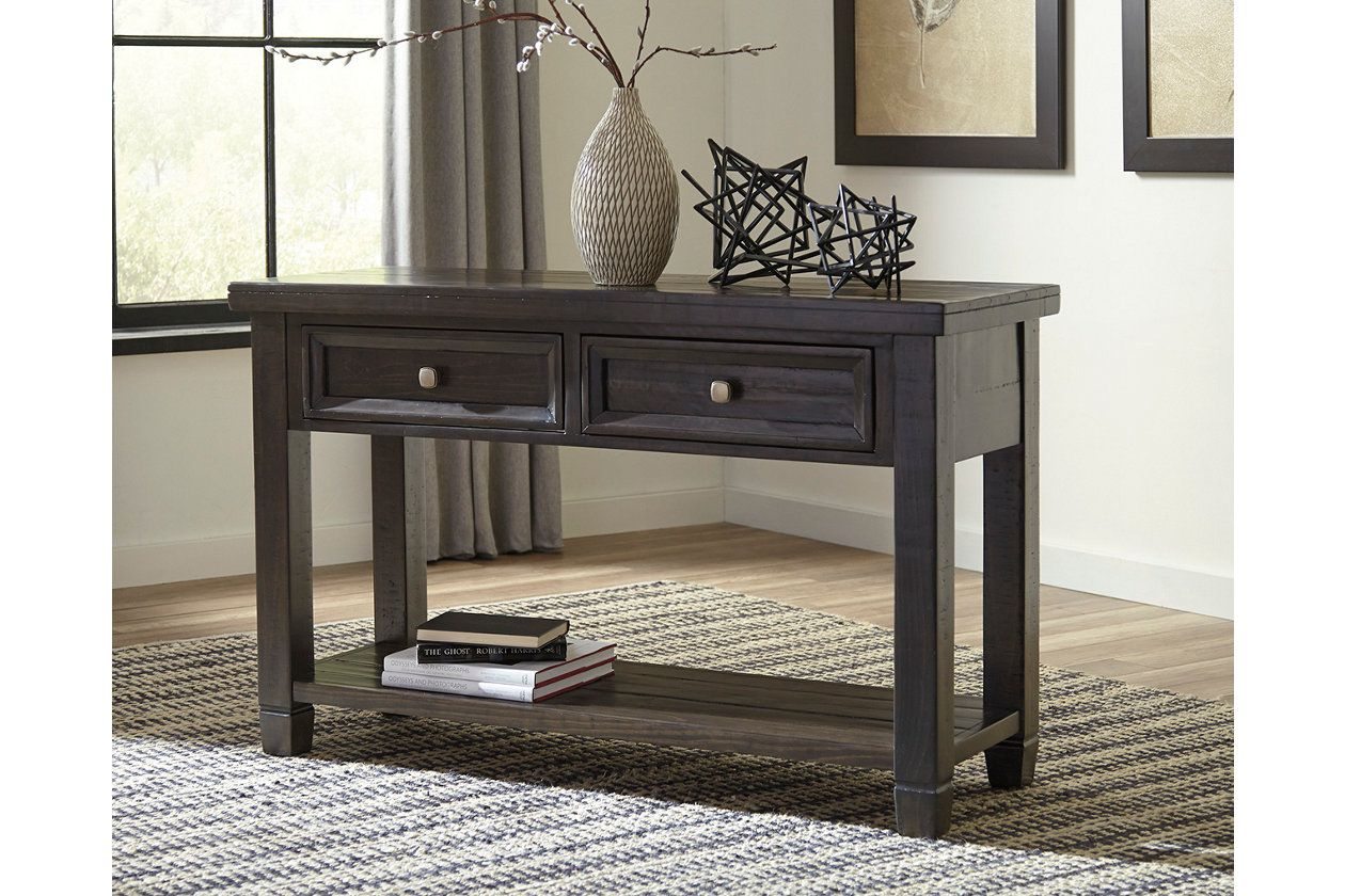 Townser Sofa Console Table Ashley Furniture Homestore Table