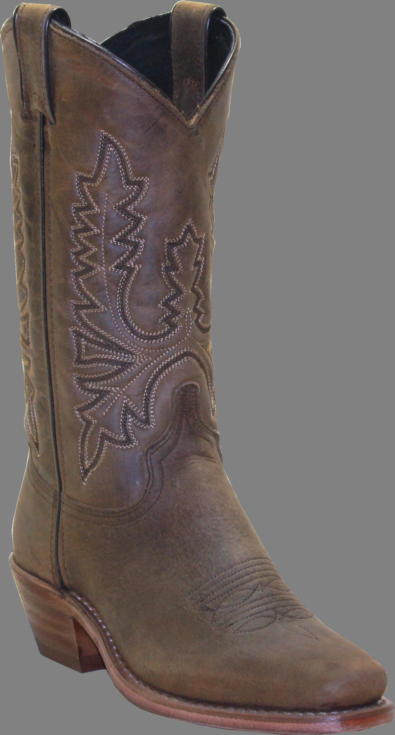 tan suede cowboy boots mid calf mens