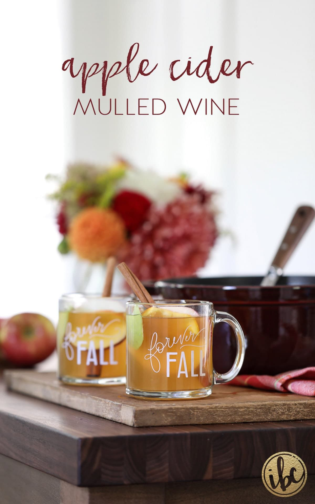 Homemade And Really Good Cider Mulled Wine Apple Cider Mulled Wine Fall Cocktail Recipe Przepisy Kulinarne Przepisy