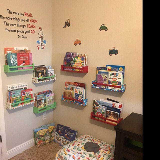Children's Book Wall Shelf/ Wall Shelf/ Floating S