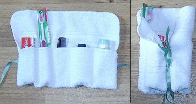 Free Pattern and Directions to Sew a Personal Care Kit for Charity or Travel : Materials