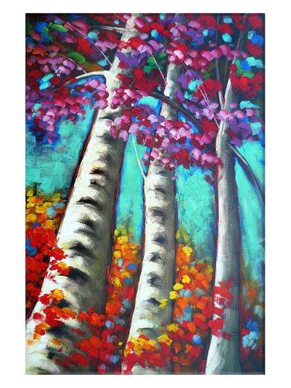 Tall Trees (Canvas) by Imbue Gallery at Gilt