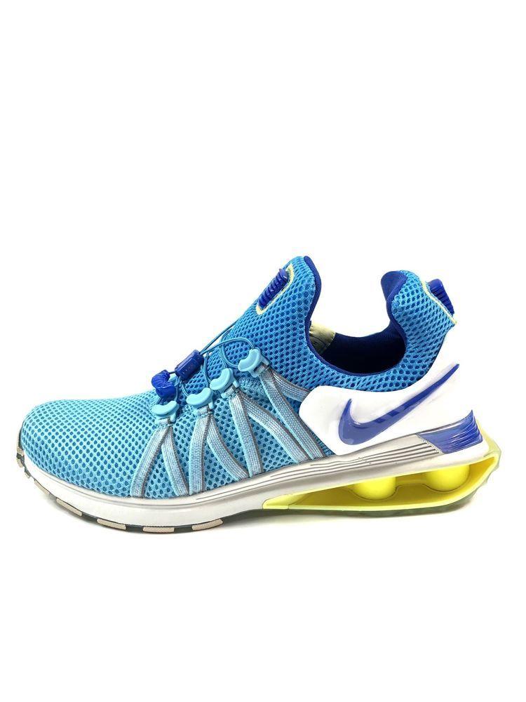 NIKE SHOX GRAVITY Women s Shoe AQ8554 404 Lagoon Pulse Racer Blue Size 8.5   150  bb4f01bca