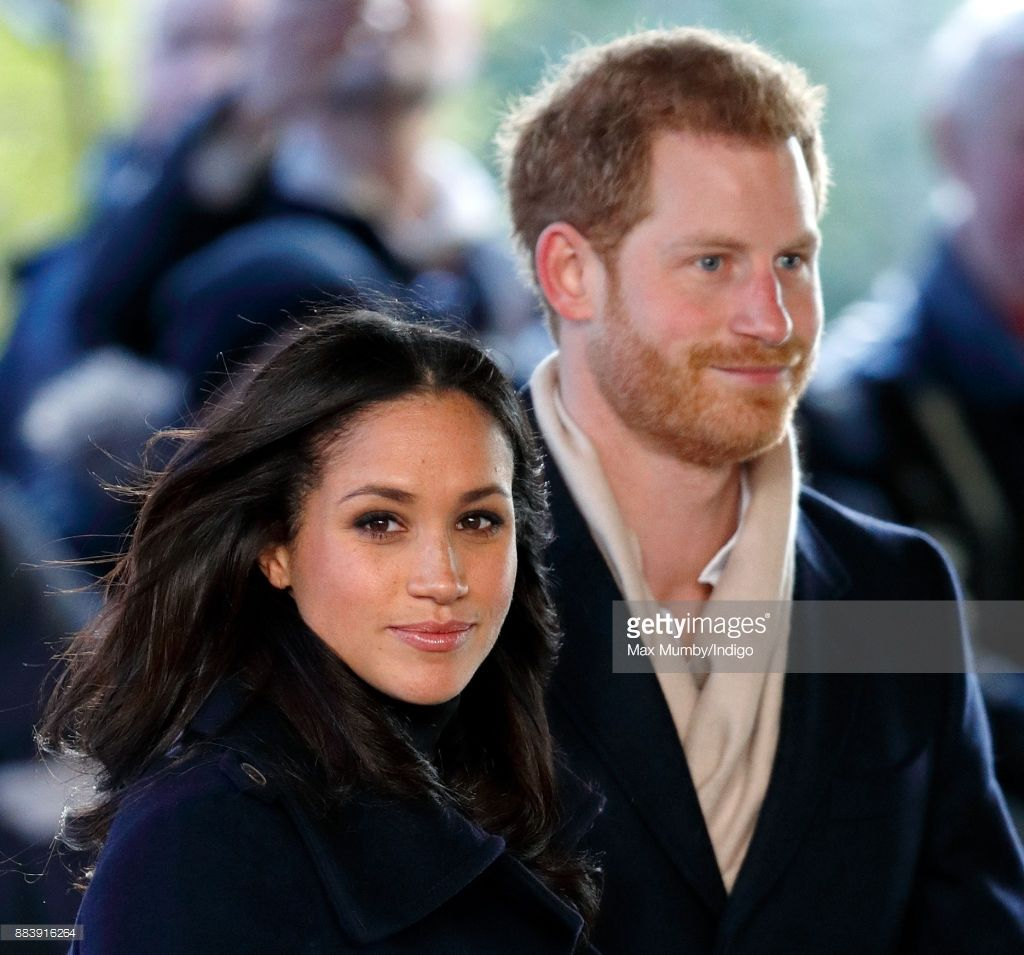 Meghan Markle And Prince Harry Attend A Terrence Higgins