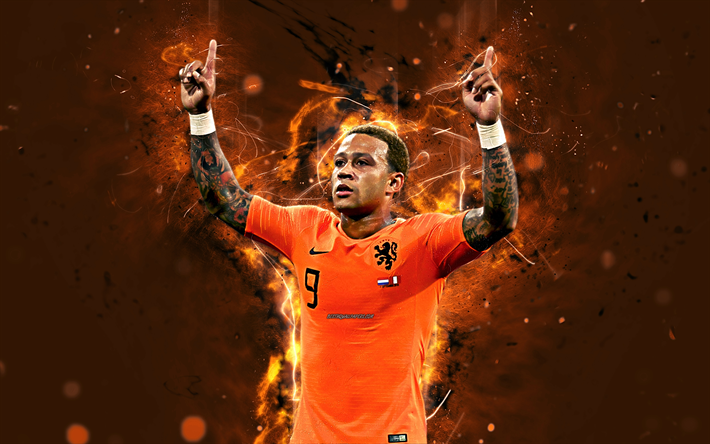Download Wallpapers 4k Memphis Depay Abstract Art Netherlands National Team Fan Art Depay Soccer Footballers Neon Lights Dutch Football Team Besthqwall Memphis Depay Abstract Art Memphis