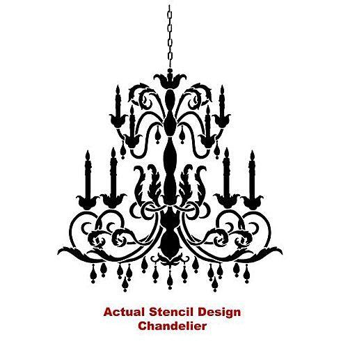 Cutting edge stencils chandelier stencilhttpwww cutting edge stencils chandelier stencilhttpcuttingedgestencilschandelier mozeypictures Images