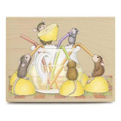 Lemony Good Times Maus Im Haus Hausmaus Stempel