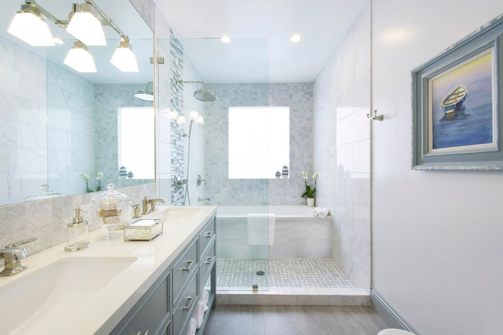 Baroque ronbow vanities in Bathroom Traditional with Kohler ...