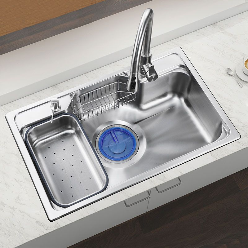 Stainless Steel Kitchen Sink With Drainer Mf7848 Contemporary