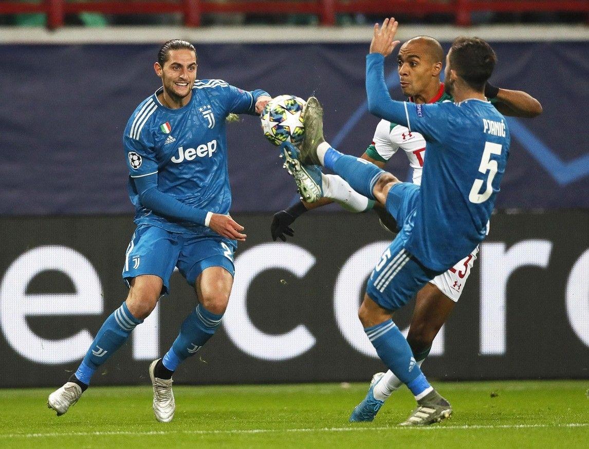 CHAMPIONS LEAGUE Champions League, JuventusLokomotiv