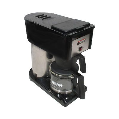 New Bunn BX B 10 Cup Velocity Brew Coffee Maker Black and Stainless Brewer 072504092843 | eBay
