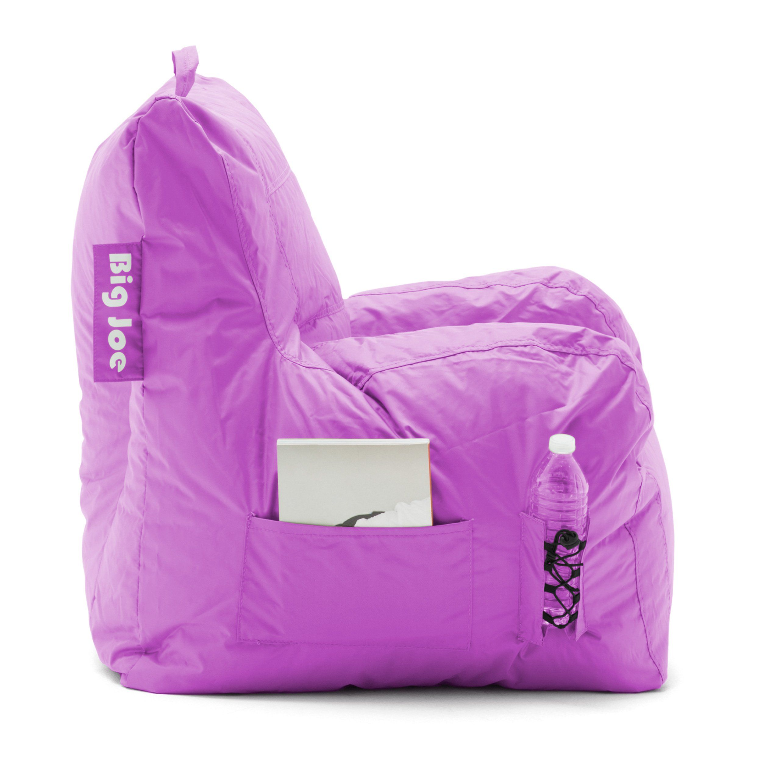 Awe Inspiring Radiant Orchid Big Joe Dorm Chair Bean Bags Home Kitchen Pabps2019 Chair Design Images Pabps2019Com