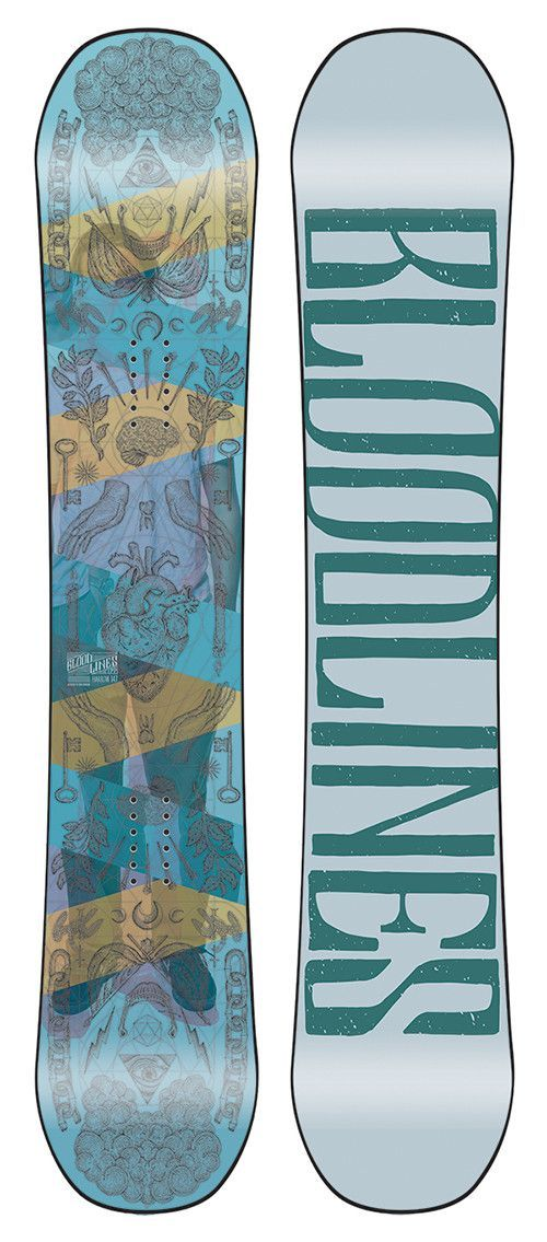 The Interior Plain Project Harrow Bloodlines Snowboard 2015 / 2016