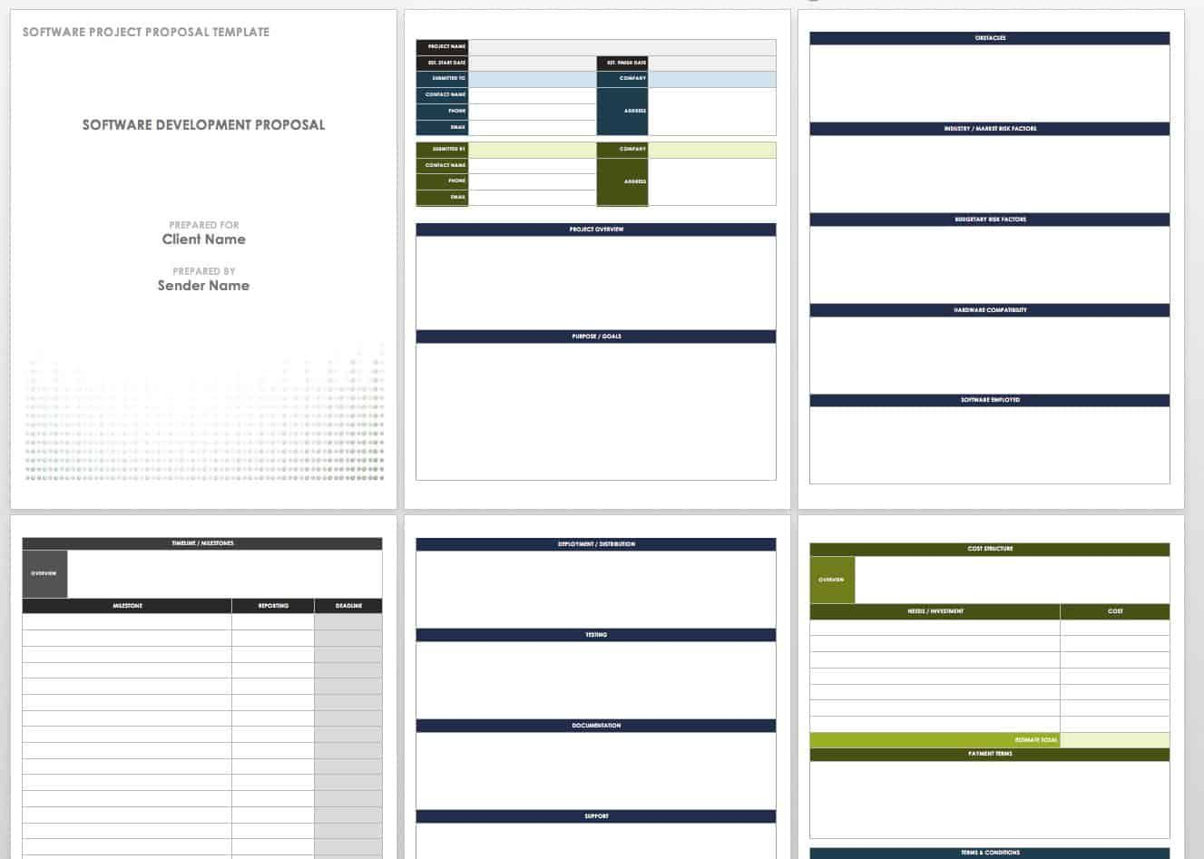 17 Free Project Proposal Templates Tips In 2020 Free Proposal