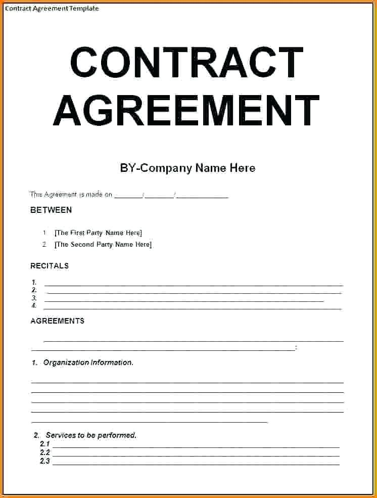 Contract Template Example Seven Moments That Basically Sum Up Your Contract Template Example Contract Template Construction Contract Personal Budget Template