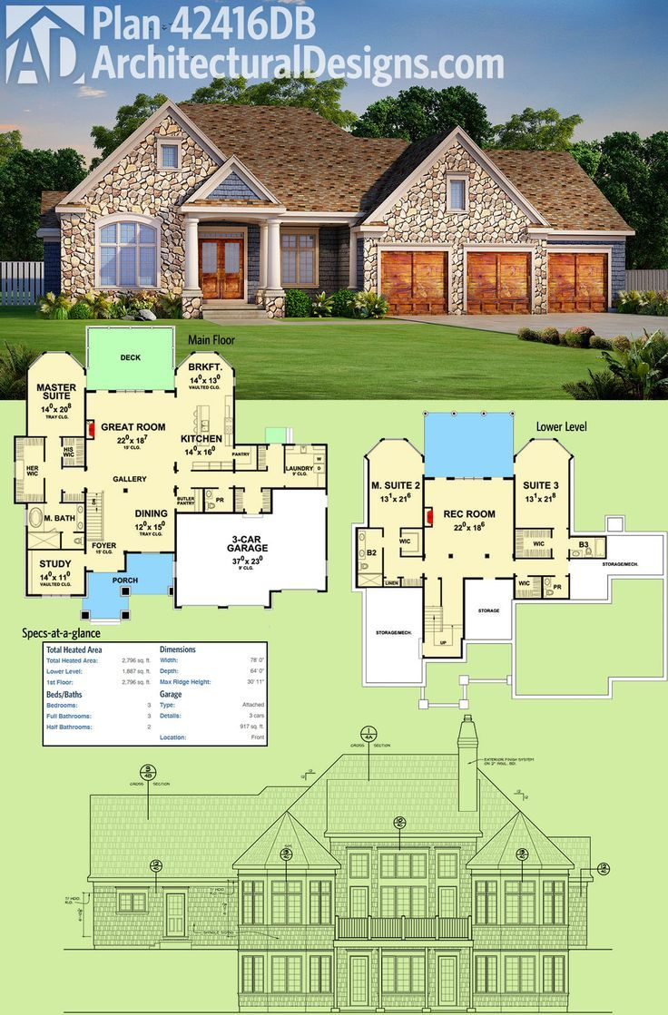 Architectural Designs House Plan designed for your