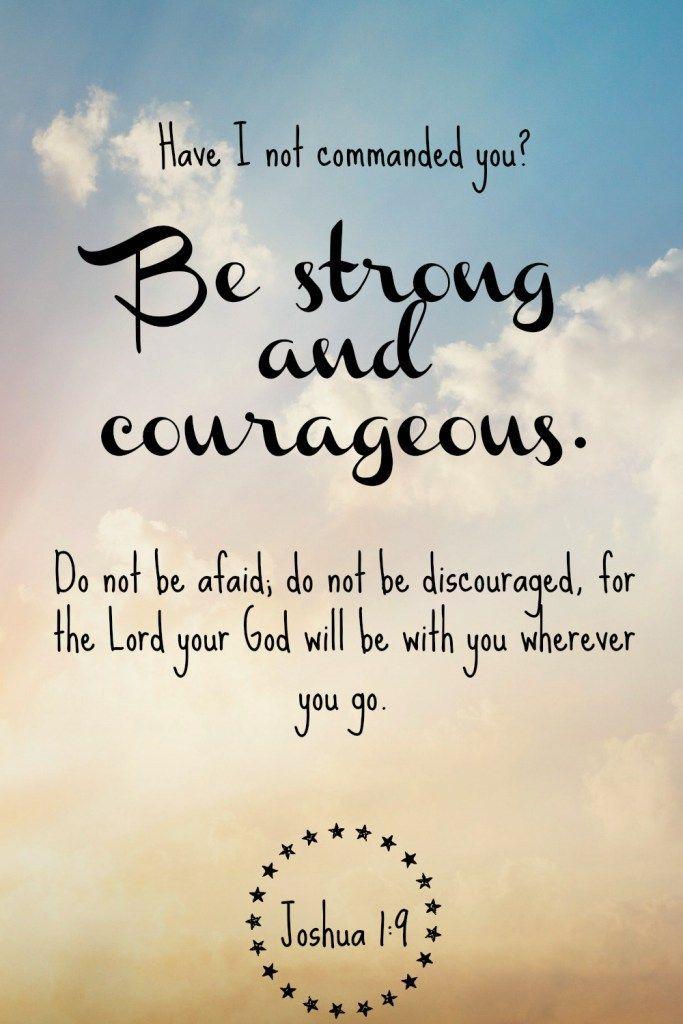 inspirational bible verses joshua 1 9 quote quotes inspiration