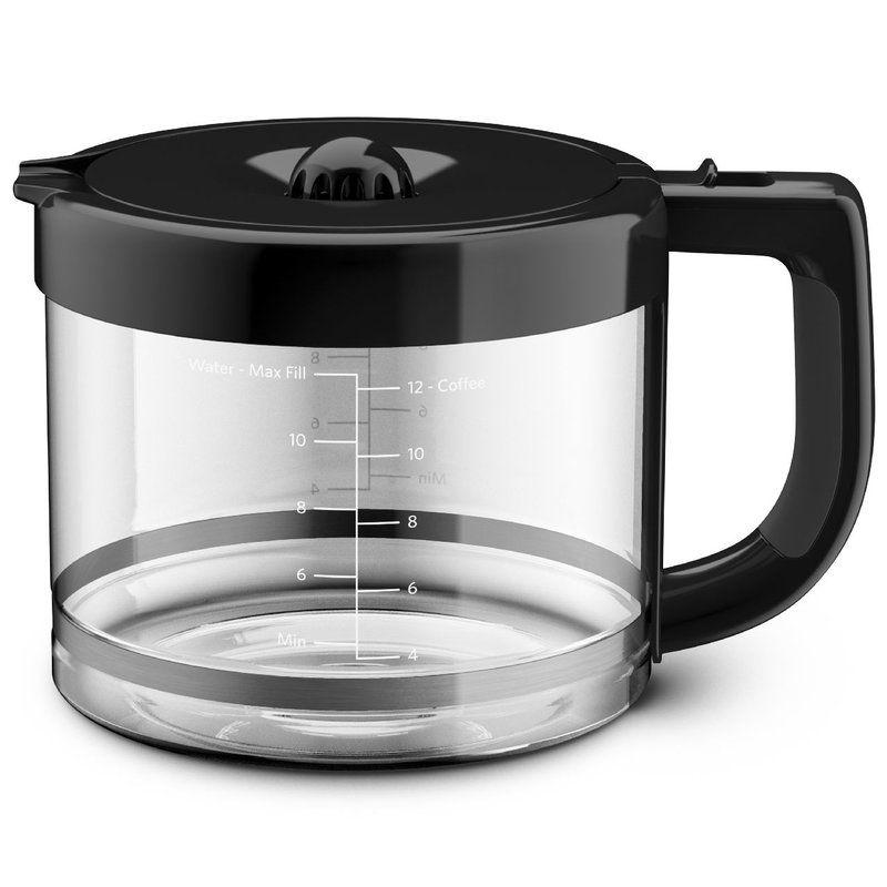 12 cup carafe kitchen aid glass carafe carafe