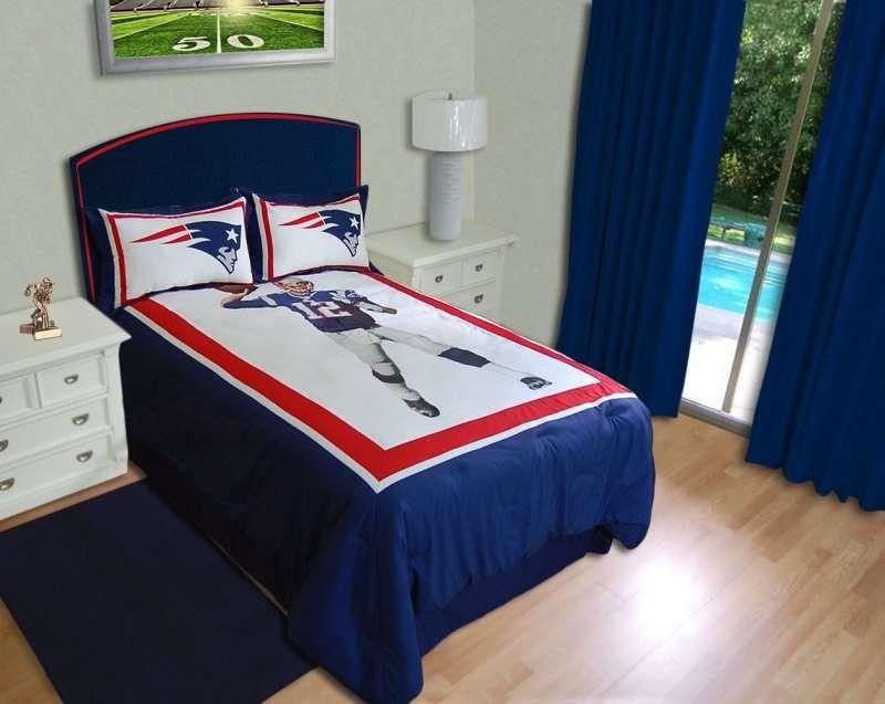 New England Patriots Tom Brady Biggshots Comforter Set