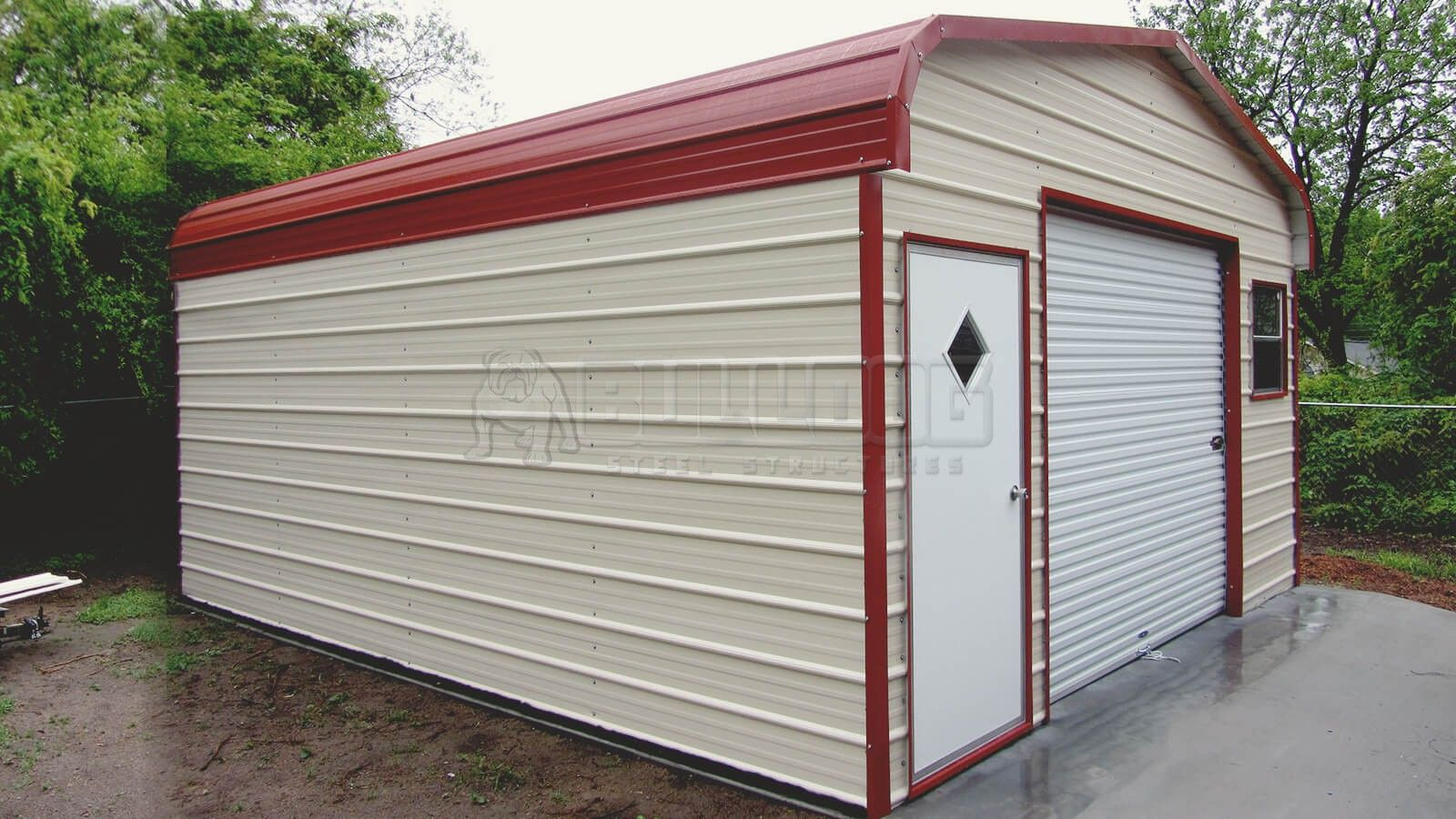 Buying Prefabricated Metal Buildings Bulldog Steel Structures Inc Metal Buildings Steel Structure Building Permits