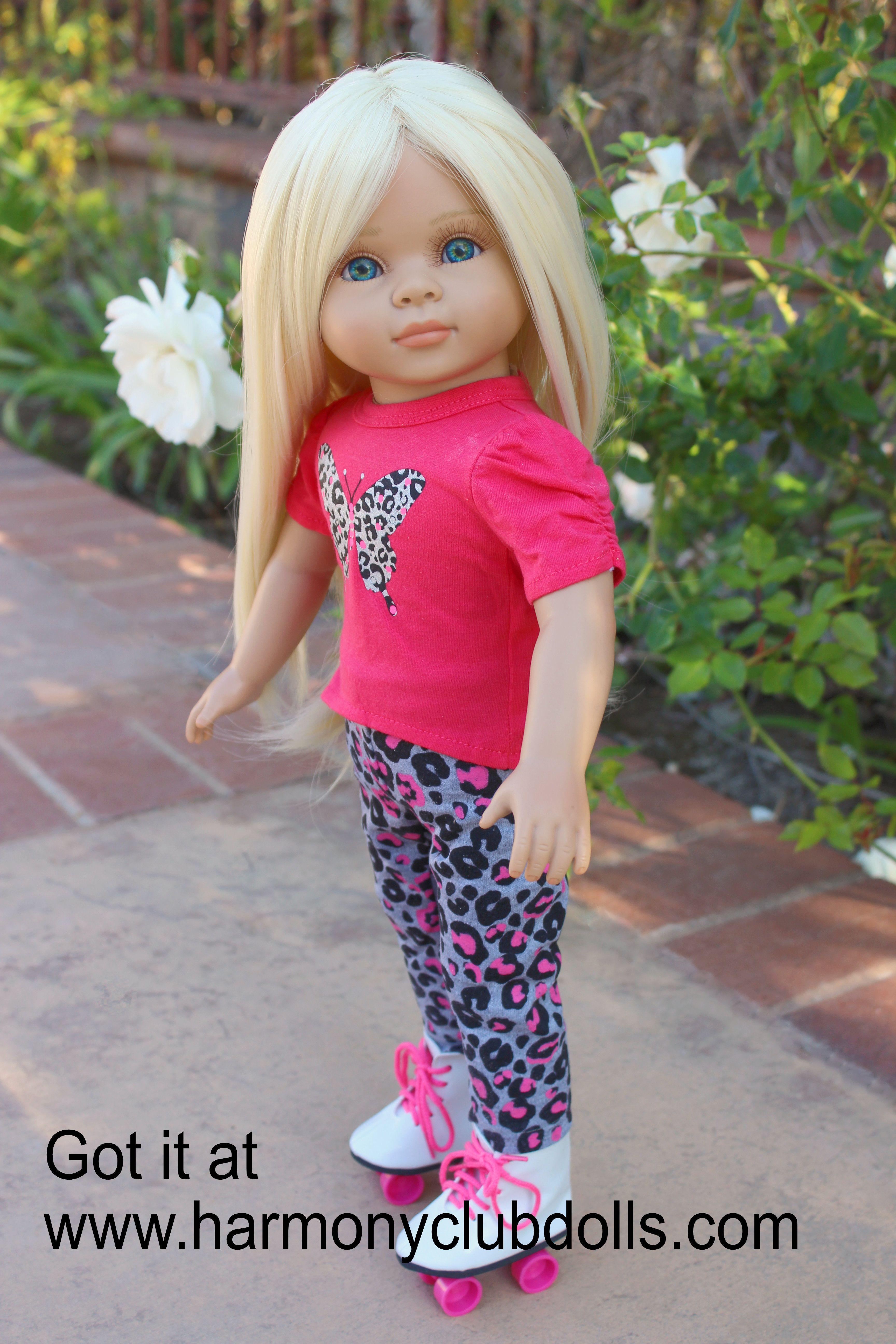 """HARMONY CLUB DOLLS 18"""" Doll Clothes to fit American Girl. www.harmonyclubdolls.com"""