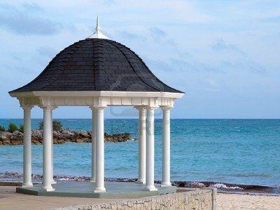 Risultato della ricerca immagini di Google per http://us.123rf.com/400wm/400/400/pr2is/pr2is1002/pr2is100200002/6382337-white-gazebo-for-weddings-overlooking-tropical-beach.jpg