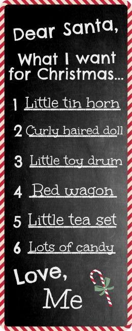 6 Last Minute DIY Christmas Ornaments Worthing FC, Christmas - printable santa wish list