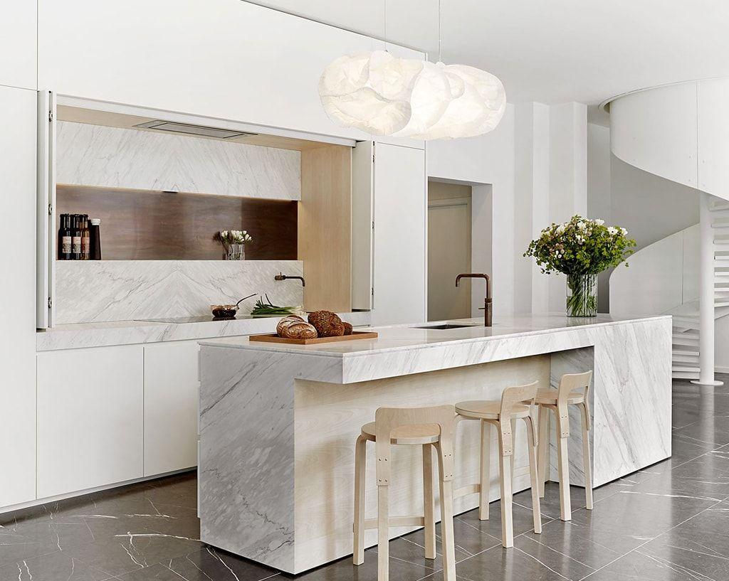 cocina-blanca-con-mueble-multifuncional-boform05   cocina ...