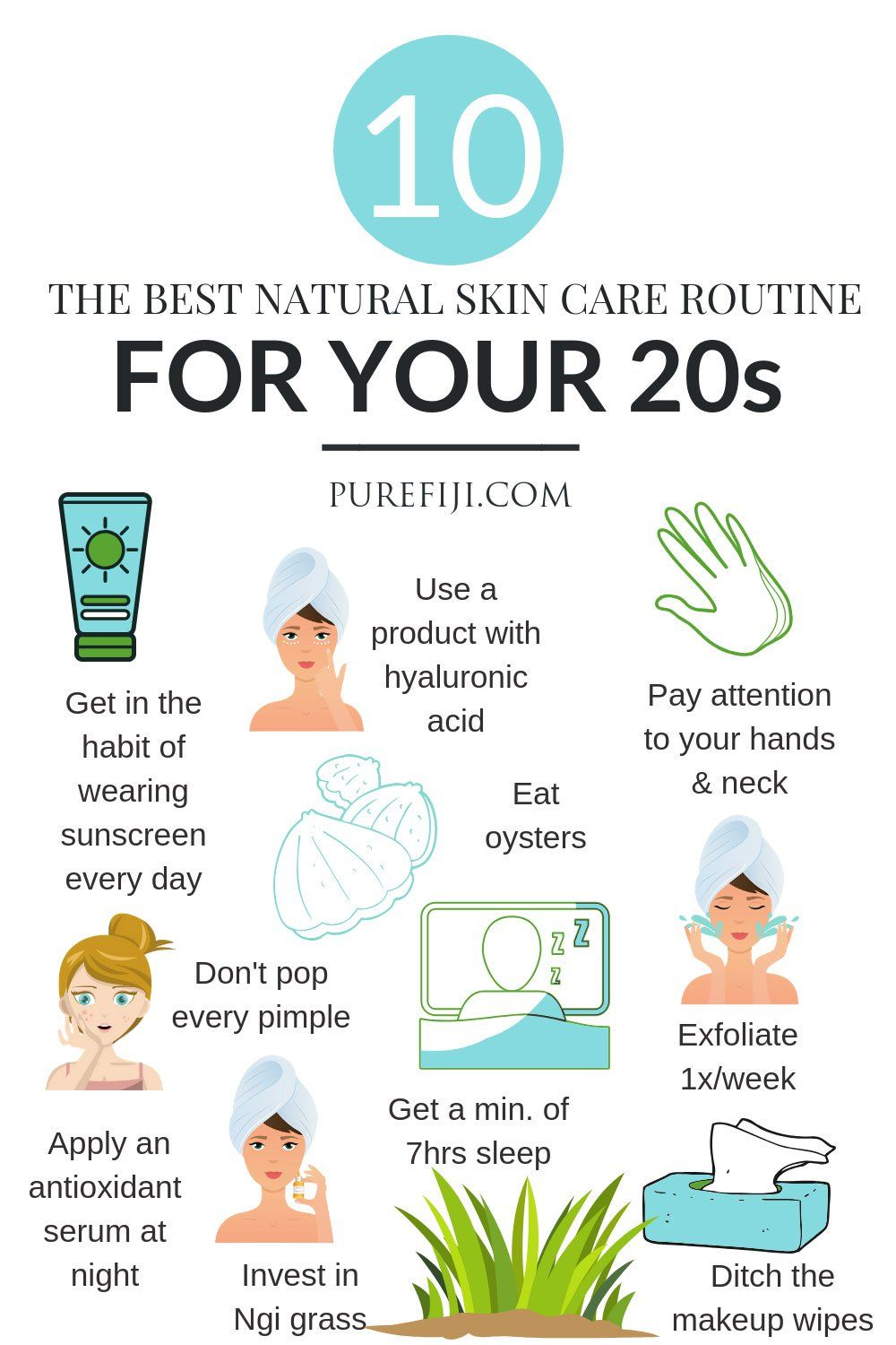 10 Natural Skin Care Tips For Gorgeous Skin In Your 20s With