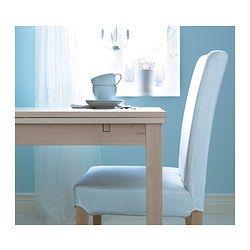bjursta table extensible plaqu bouleau deco cuisine pinterest table extensible. Black Bedroom Furniture Sets. Home Design Ideas