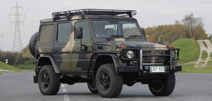 Mercedes-Benz G-Wagen in the Australian Army configuration ...